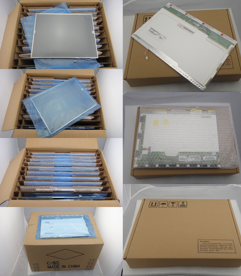 packaging for laptop lcd screen