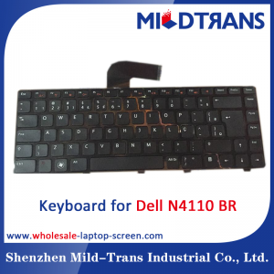 BR Laptop Keyboard for Dell N4110