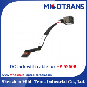 HP 6560B Laptop DC Jack