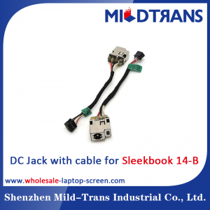 HP Sleekbook 14-B Laptop DC Jack