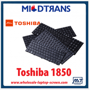 High quality US layout laptop keyboard for Toshiba 1850