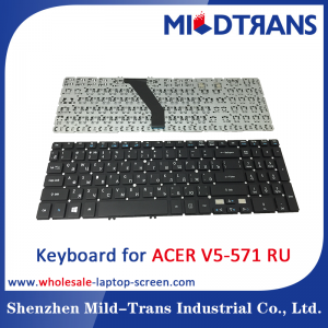 RU Laptop Keyboard for ACER V5-571