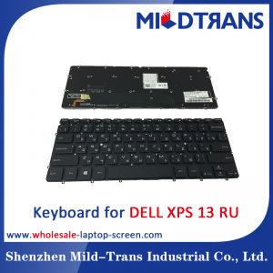 RU Laptop Keyboard for DELL XPS 13
