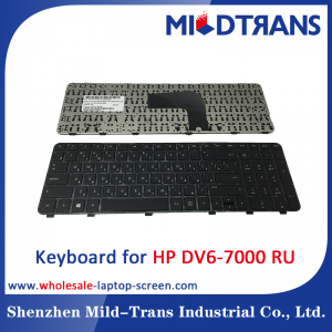 RU Laptop Keyboard for HP DV6-7000