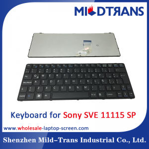 SP Laptop Keyboard for Sony SVE 11115