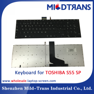 SP Laptop Keyboard for TOSHIBA S55