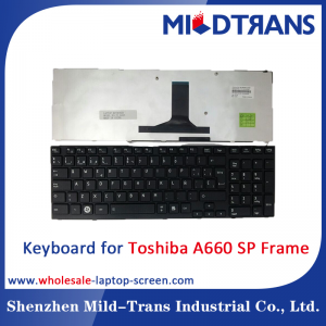 SP Laptop Keyboard for Toshiba A660