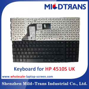 UK Laptop Keyboard for HP 4510S
