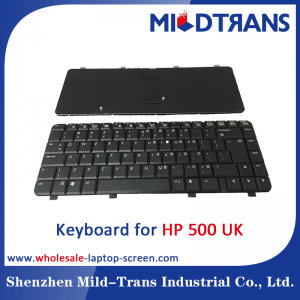 UK Laptop Keyboard for HP 500