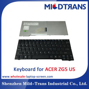 US Laptop Keyboard for ACER ZG5
