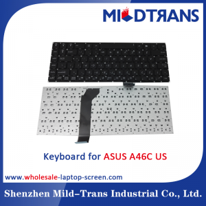 US Laptop Keyboard for ASUS A46C