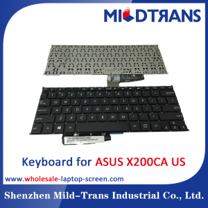 US Laptop Keyboard for ASUS X200CA