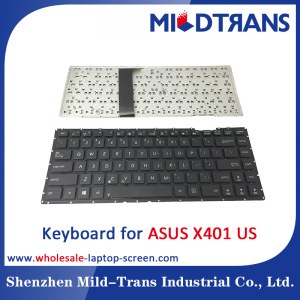 US Laptop Keyboard for ASUS X401