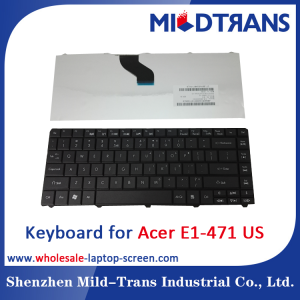 US Laptop Keyboard for Acer E1-471