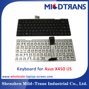 US Laptop Keyboard for Asus X450