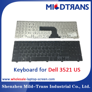 US Laptop Keyboard for DELL 3521
