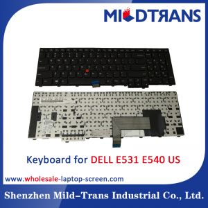 US Laptop Keyboard for DELL E531 E540