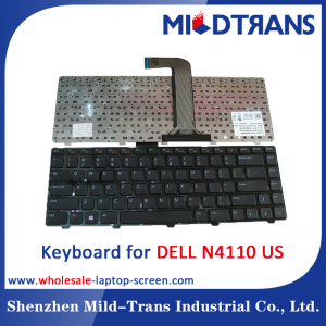 US Laptop Keyboard for DELL N4110