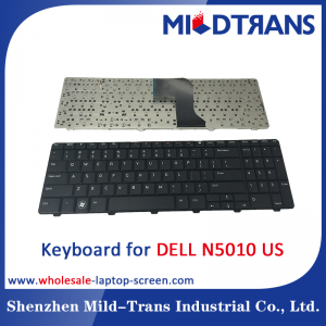 US Laptop Keyboard for DELL N5010