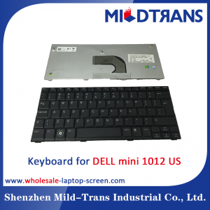 US Laptop Keyboard for DELL mini 1012