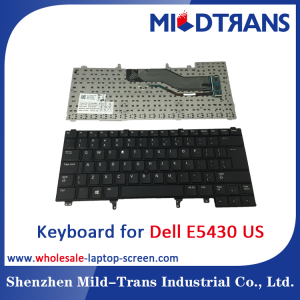 US Laptop Keyboard for Dell E5430