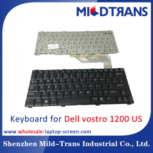US Laptop Keyboard for Dell vostro 1200