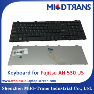 US Laptop Keyboard for Fujitsu AH 530