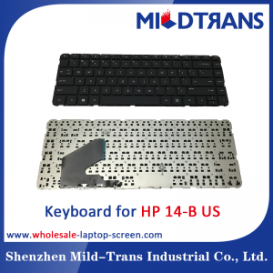 US Laptop Keyboard for HP 14-B
