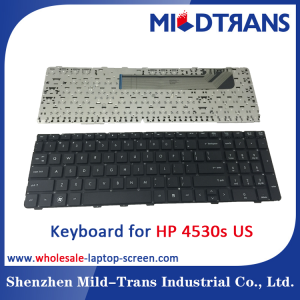US Laptop Keyboard for HP 4530s