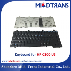 US Laptop Keyboard for HP C300