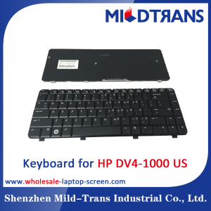 US Laptop Keyboard for HP DV4-1000