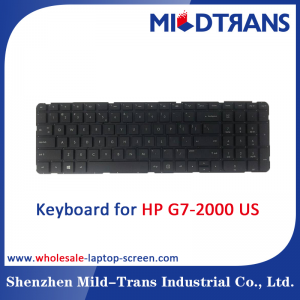 US Laptop Keyboard for HP G7-2000
