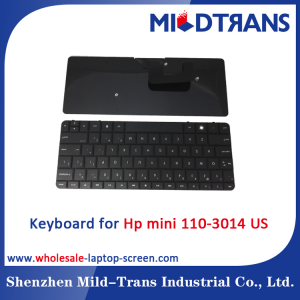 US Laptop Keyboard for Hp mini 110-3014
