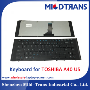 US Laptop Keyboard for TOSHIBA A40