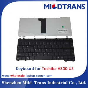US Laptop Keyboard for Toshiba A300