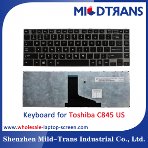 US Laptop Keyboard for Toshiba C845