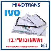 "China 12.1"" IVO WLED backlight notebook pc LED screen M121NWW1 1280×800 cd/m2 220 C/R 700:1 factory"