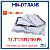 "China 12.1 ""TOSHIBA CCFL notebook backlight display LCD LTD121EXPK 1280 × 800 cd / m2 C / R fábrica"