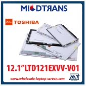 "China 12.1 ""backlight painel LCD notebook TOSHIBA CCFL LTD121EXVV-V01 1280 × 800 fábrica"