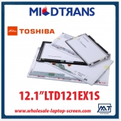"China 12.1 ""notebook backlight painel pc LCD TOSHIBA CCFL LTD121EX1S 1280 × 768 cd / m2 a 250 C / R 600: 1 fábrica"