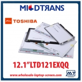 "China 12.1 ""notebook TOSHIBA backlight CCFL tela do computador pessoal LCD LTD121EXQQ 1280 × 800 cd / m2 C / R fábrica"