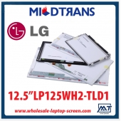 "China 12.5"" LG Display WLED backlight laptop TFT LCD LP125WH2-TLD1 1366×768 cd/m2 200 C/R 200:1  factory"