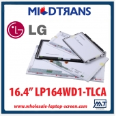 "China 16,4 ""LG Display CCFL Hintergrundbeleuchtung Notebook PC LCD-Panel-LP164WD1 TLCA 1600 × 900 cd / m2 C / R-Fabrik"