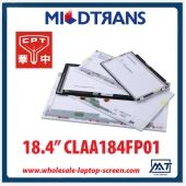 "China 18,4 ""laptops backlight CPT WLED display LED CLAA184FP01 1920 × 1080 cd / m2 a 350 C / R 800: 1 fábrica"