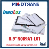 "China 8.9"" Innolux CCFL backlight laptop TFT LCD N089A1-L01 1280×768 cd/m2 200 C/R 300:1 factory"