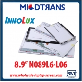 "China 8.9"" Innolux WLED backlight notebook computer TFT LCD N089L6-L06 1024×600 cd/m2 200 C/R 400:1 factory"