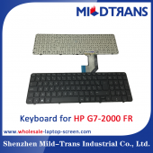 China FR Laptop Keyboard for HP G7-2000 factory