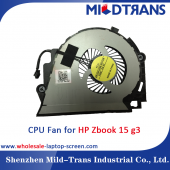 Çin HP ZBook 15 G3 Laptop CPU fan fabrika