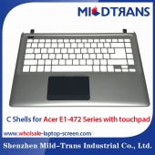China Laptop C Shells for Acer E1-472 Series with touchpad factory