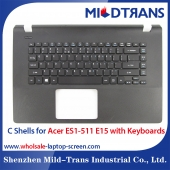 China Laptop C Shells for Acer ES1-511 E15 factory